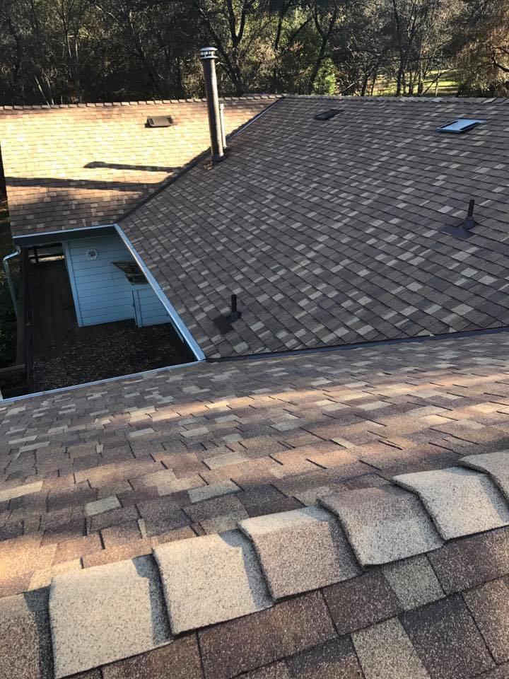 New CertainTeed composite roof installation in San Ramon, California