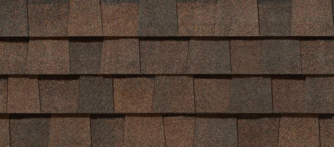 Burnt Sienna shingles