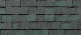 Hunter Green shingles