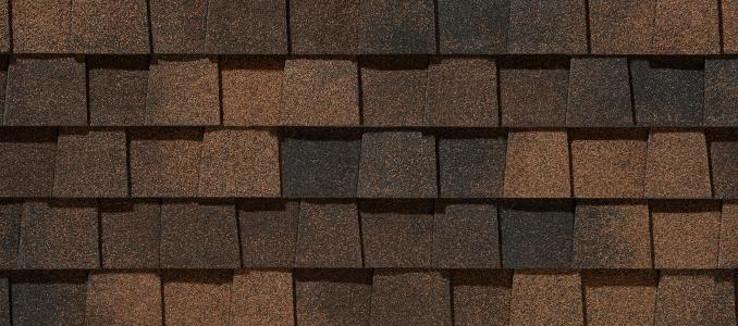 LM Burnt Sienna shingles
