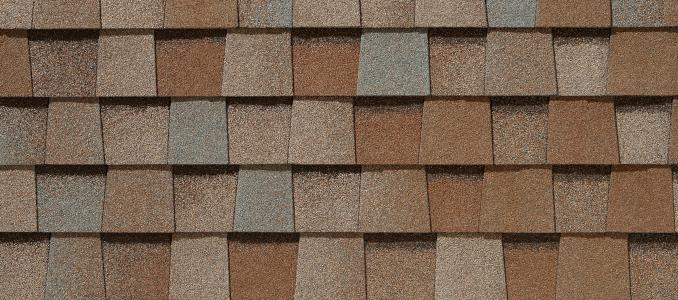 Painted Desert shingles