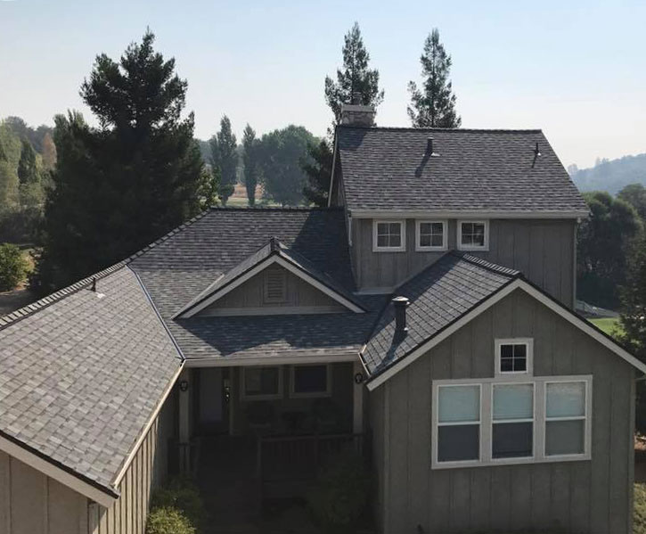 Roof replacement in Danville, California