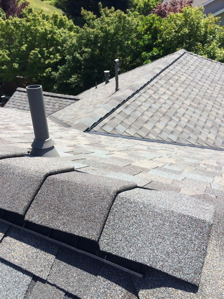 composite shake roof installation in Dublin, California
