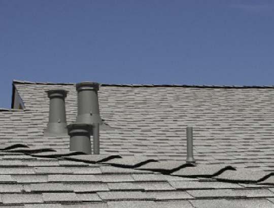 Malarkey black roof installed by roofer in Jamestown CA