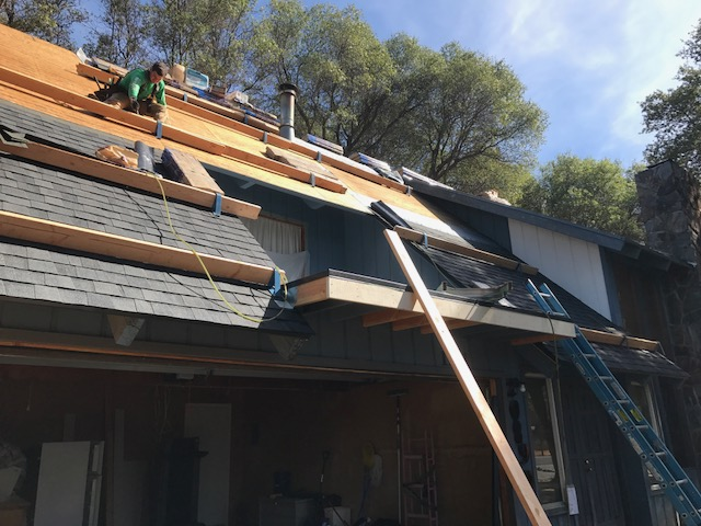 Re-roofing in Pleasanton