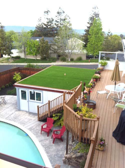 Custom roofing installation