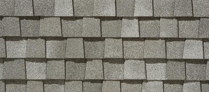 Cobblestone Gray shingles