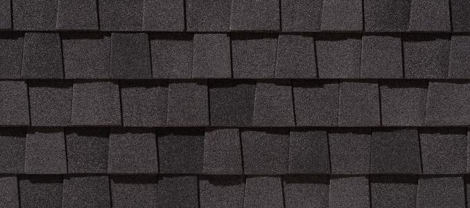 LM Moire Black shingles