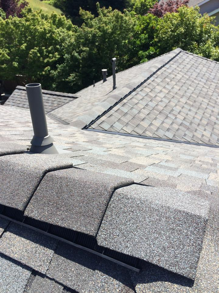 composite shake roof installation in Dublin, California
