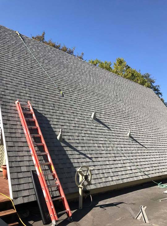 emergency roof installation