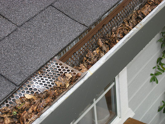 gutter cover installation in San Ramon