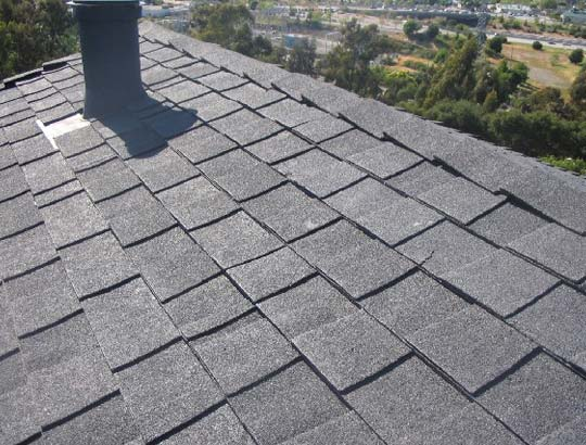 Shingle roof installation in Angels Camp