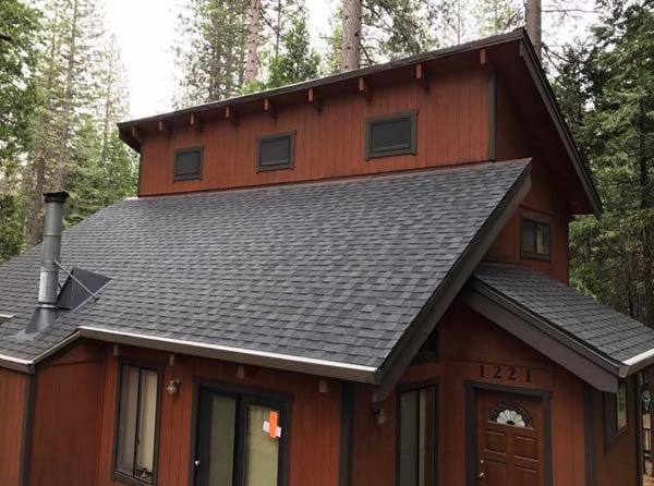 roof installed in Twain Harte
