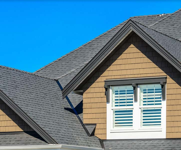 a roofer in Merced did a repair on this home