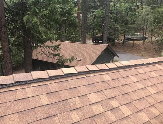 CertainTeed roofing system installed in Tuttletown, CA