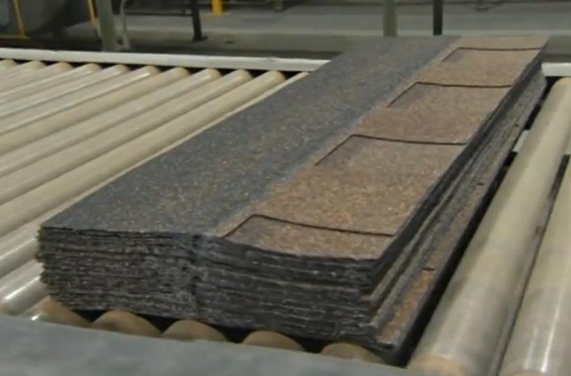 the making of asphalt shingles