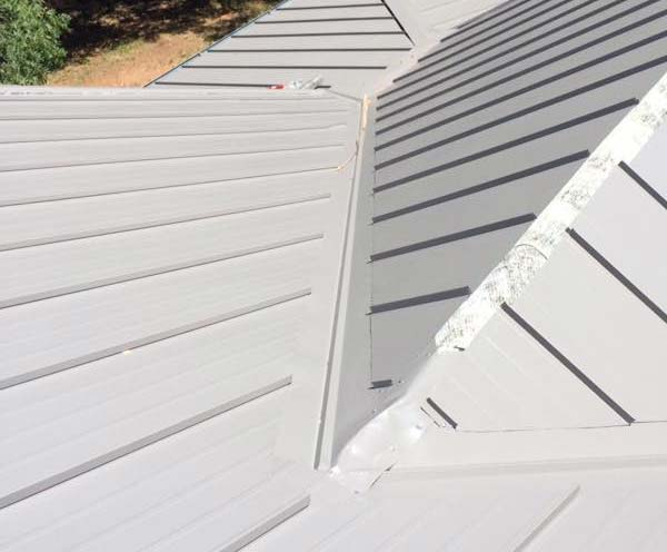 our team did a small repair on this roof