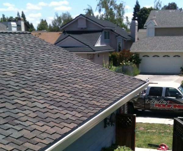 emergency roof repair done by one of our roofers in Atwater