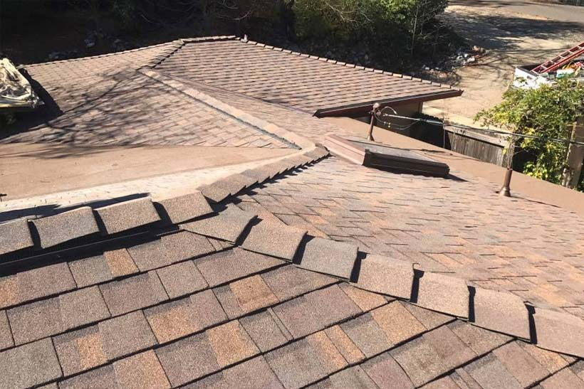 slate and shake roofing