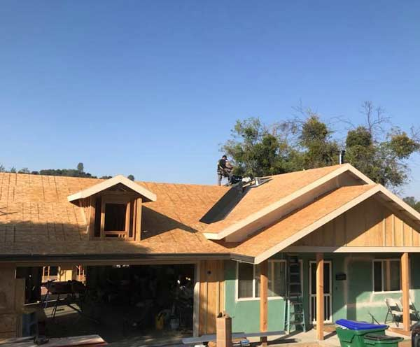 a full reroofing in Lathrop done by our experienced team