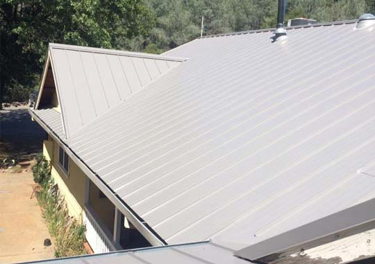 metal roofing installation done by our pros