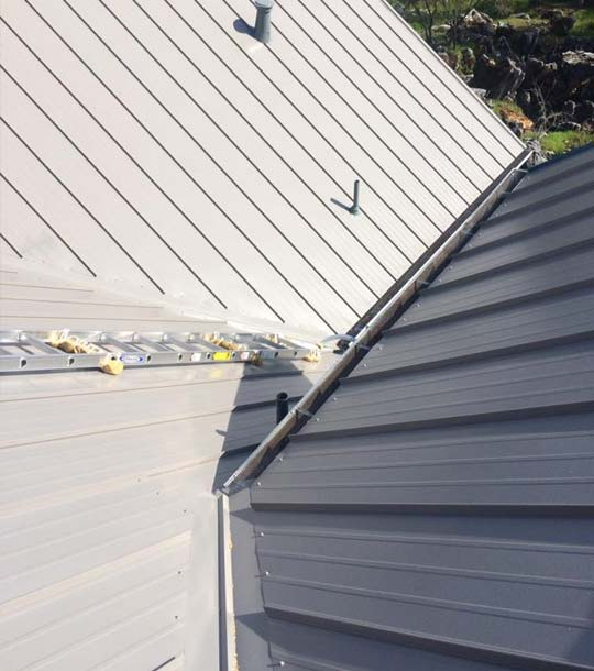 ASC metal roofing